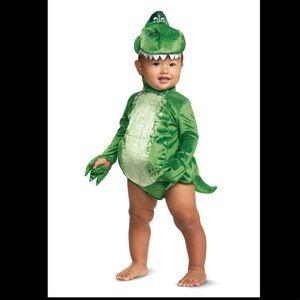 DISNEY TOY STORY REX Infant Halloween costume size 12-18M